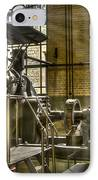 In The Ship-lift Engine Room IPhone Case