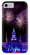 Independence Eve In Denver Colorado IPhone Case by Teri Virbickis