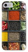 Indian Spice Grid IPhone Case