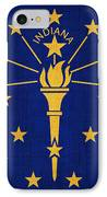 Indiana State Flag IPhone Case