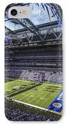 Indianapolis Colts 3 IPhone Case by David Haskett