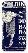Indoor Base Ball Guide 1907 IPhone Case by American Sports Publishing