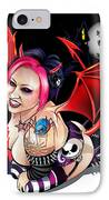 Inkerbella IPhone Case by Brian Gibbs