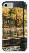 Inside The Old Spring House IPhone Case by Scott Norris