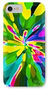 Iphone Cases Colorful Flowers Abstract Roses Gardenias Tiger Lily Florals Carole Spandau Cbs Art 181 IPhone Case