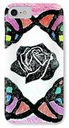 Irish Rose IPhone Case by Marita McVeigh