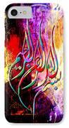 Islamic Caligraphy 002 IPhone Case