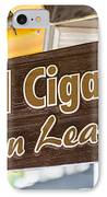 Island Cigar Factory Key West - Panoramic  IPhone Case by Ian Monk