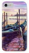 Italy Venice Early Mornings IPhone Case by Yuriy Shevchuk