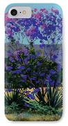 Jacaranda Holy Ghost Church In Kula Maui Hawaii IPhone Case