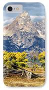 Jackson Hole IPhone Case by Kathleen Bishop