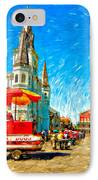 Jackson Square Painted Version IPhone Case