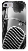 Jaguar Hood Emblem - Grille IPhone Case by Jill Reger