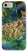 Jaguar Meadow  Variant 1 IPhone Case