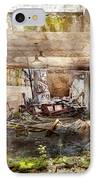 Jail - Eastern State Penitentiary - The Mess Hall  IPhone Case by Mike Savad