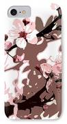 Japanese Blossom IPhone Case by Sarah OToole