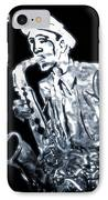 Jazz Notes IPhone Case by Dan Sproul
