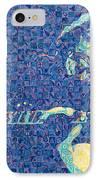Jerry Garcia Chuck Close Style IPhone Case by Joshua Morton