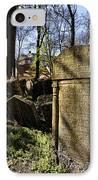 Jewish Cemetery IPhone Case by Brenda Kean