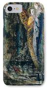 Job And The Angels IPhone Case by Gustave Moreau