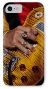 Joe Perry - Aerosmith IPhone Case by Don Olea