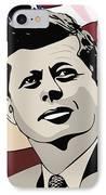 John F. Kennedy 1st Irish Catholic President  IPhone Case