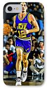 John Stockton Portrait IPhone Case