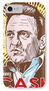 Johnny Cash Pop Art IPhone Case