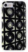 Johnny Cash Vinyl Records IPhone Case