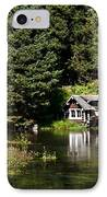 Johnny Sack Cabin IPhone Case by Robert Bales