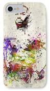 Jon Jones IPhone Case by Aged Pixel