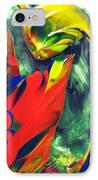 Joyful Conversations IPhone Case by Douglas G Gordon