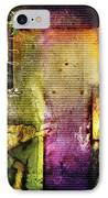 Judges 1 IPhone Case by Switchvues Design