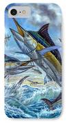 Jumping Grand Slam And Flyingfish IPhone Case by Terry  Fox