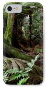 Jungle Trunks1 IPhone Case by Les Cunliffe