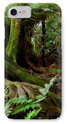 Jungle Trunks2 IPhone Case by Les Cunliffe