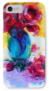 Just Past Bloom - Roses Still Life IPhone Case by Talya Johnson