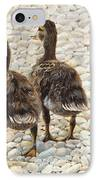 Just Waddling IPhone Case by Tammy  Taylor
