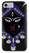 Kaalraatri IPhone Case by Pratyasha Nithin