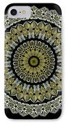 Kaleidoscope Ernst Haeckl Sea Life Series Steampunk Feel IPhone Case by Amy Cicconi