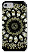 Kaleidoscope Ernst Haeckl Sea Life Series Steampunk Feel Triptyc IPhone Case