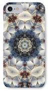 Kaleidoscope Seashells IPhone Case by Cathy Lindsey