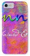 Kannon - Unchained And Free IPhone Case