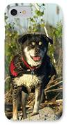 Kayaker's Best Friend IPhone Case by James Peterson