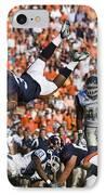 Keith Payne Superman Dive Virginia Cavaliers Football IPhone Case by Jason O Watson