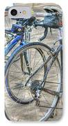 Kestrel And Specialized--ironman Rides IPhone Case by David Bearden