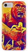 King Kong IPhone Case by John Malone