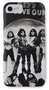 Kiss Drawing IPhone Case