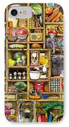 Kitchen Cupboard IPhone Case by Colin Thompson