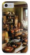 Kitchen - Nothing Like Home Cooking IPhone Case by Mike Savad